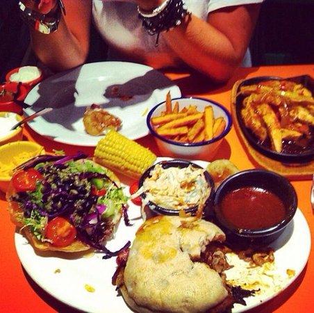 Gringos: Massive portions of amazing food