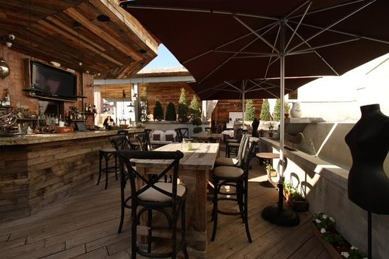 Olive Boutique Hotel: rooftop