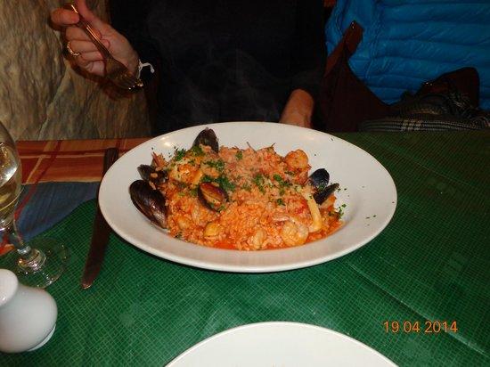 Bar Napoli: Risoto de frutos do mar