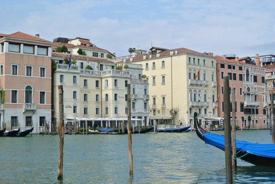 The Westin Europa & Regina, Venice: View of hotel from opposite side of the Grand Canal