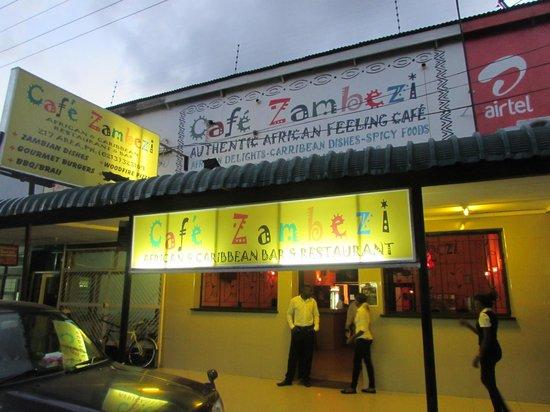 Cafe Zambezi: Entrance
