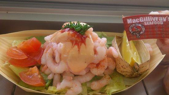 MacGillivray's Seafood: prawn cocktail :p