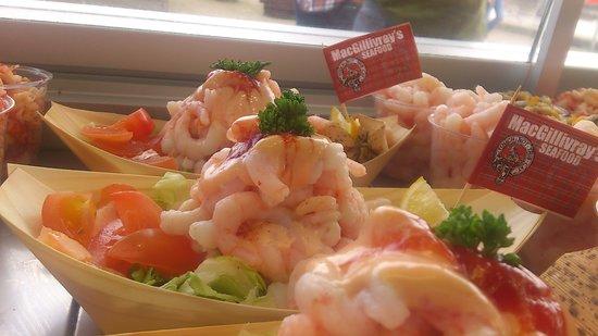 MacGillivray's Seafood: beautifull presentations of seafood