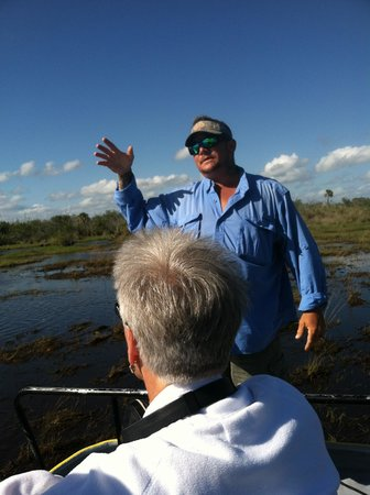 Speedy's Airboat Tours : Captain Fred