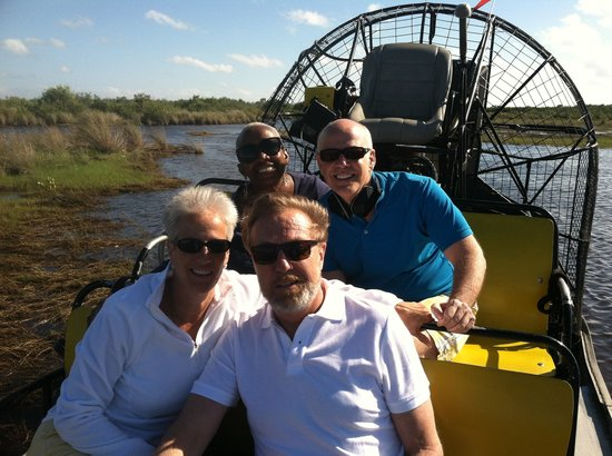 Speedy's Airboat Tours : Who Knew We'd Have Such A Good Time?
