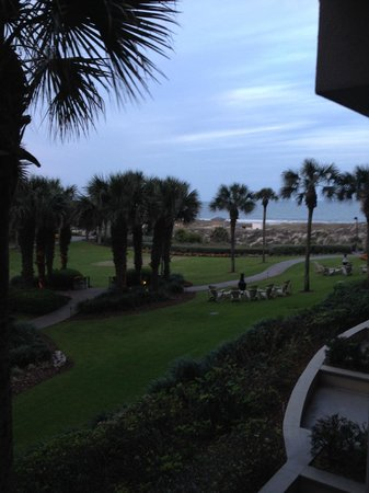 The Ritz-Carlton, Amelia Island: view from the room