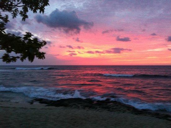Four Seasons Resort Hualalai: just a normal sunset