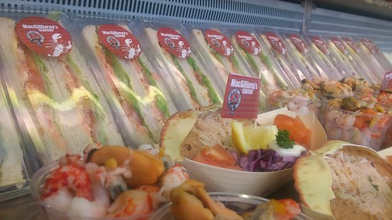 MacGillivray's Seafood: lovely sadwiches fresh every day and dressed crab salad