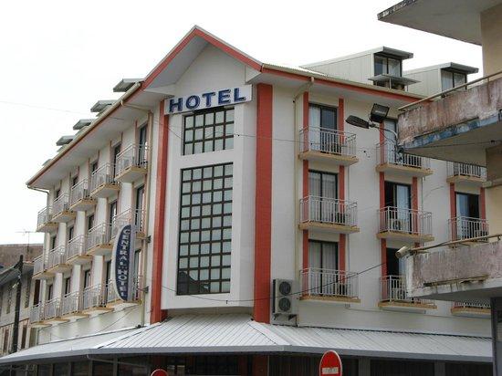 Central Hotel Cayenne : Visão do hotel