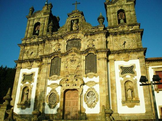 Pousada Mosteiro Guimarães: the church beside the Pousada
