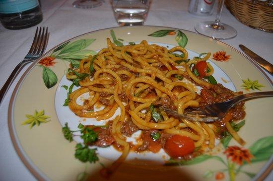 La Griglia: Bigoli in salsa di chianina