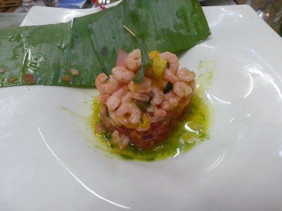 Ti Toques : Ceviche di gamberetti