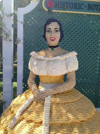 LEGOLAND Florida Resort: Life Size Sculpture Made Of Lego