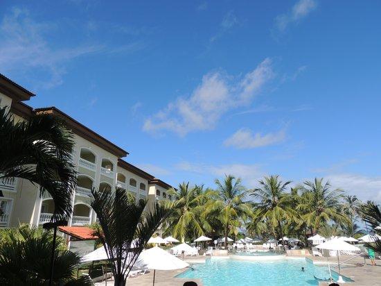 Sauipe Resorts: VISTA DESDE EL LOBBY DEL HOTEL