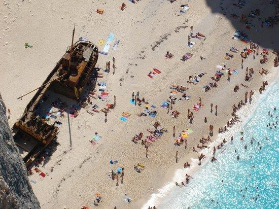 Strand von Navagio: Wrak statku