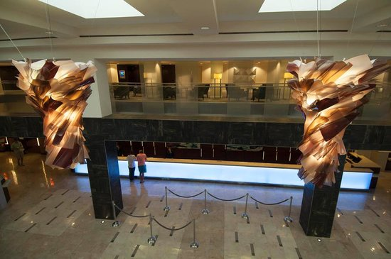 Hilton Orlando Lake Buena Vista - Disney Springs™ Area : Lobby and check in-out area