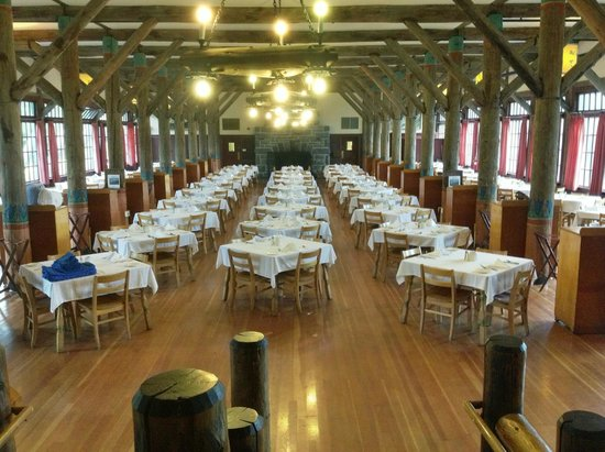 Paradise Inn at Mount Rainier : Dining Room