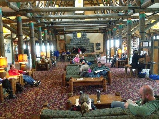 Paradise Inn at Mount Rainier : Great Room