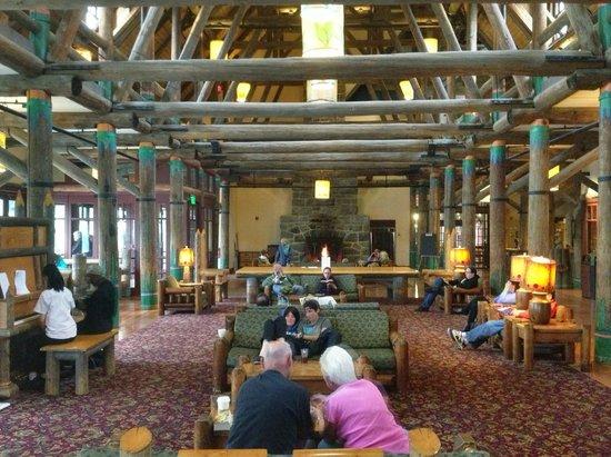 Paradise Inn at Mount Rainier : Great Hall
