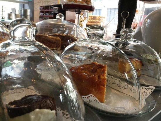Margo Salon de te: las tartas