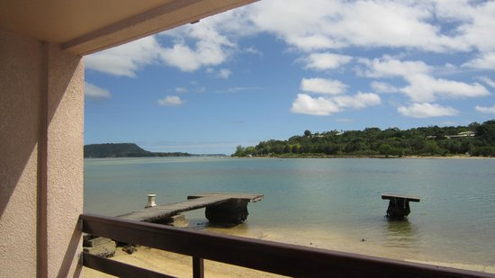 Fatumaru Lodge: View from our Seafront Studio.