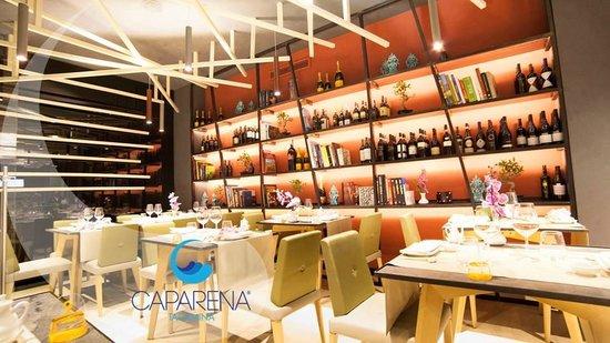 Caparena Sushi & Wine: Restaurant