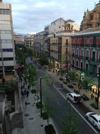 Eurostars Gran Via: View from Hotel Fontecruz