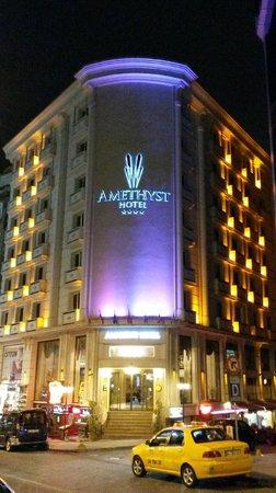 Amethyst Hotel Istanbul: Exterior del hotel