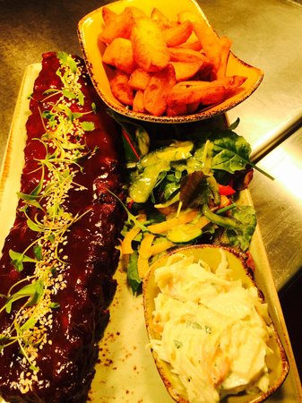 The Tenby: Sticky Ribs