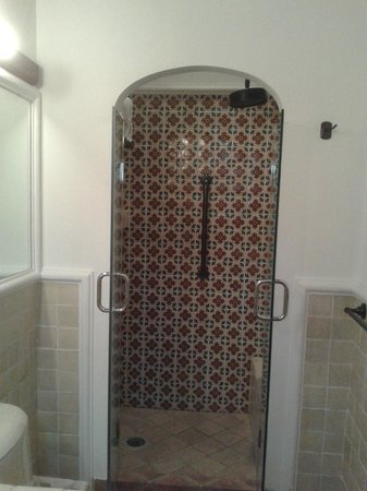Filadelfia Coffee Resort and Spa : shower in room