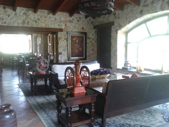 Finca Filadelfia Coffee Resort & Tours: loung area