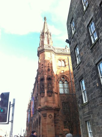 Scottish National Portrait Gallery: The building from the outside