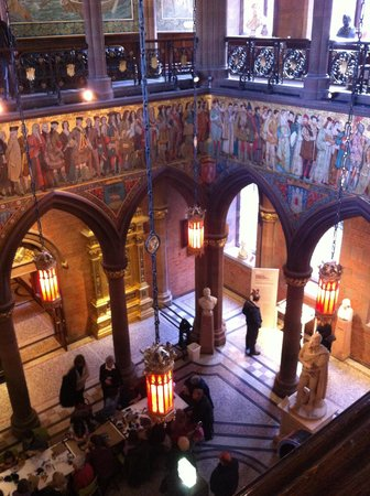 Scottish National Portrait Gallery: View of main hall