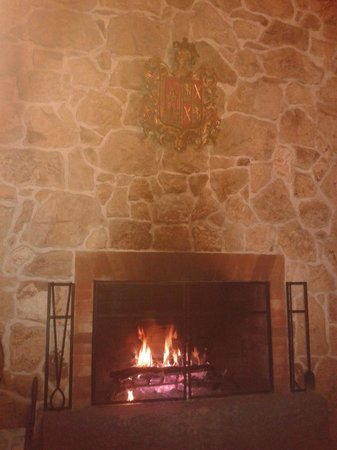 Finca Filadelfia Coffee Resort & Tours: hotel fireplace