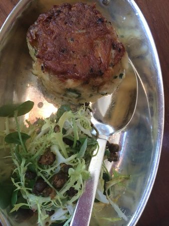 Blue Duck Tavern: Crab cake half order