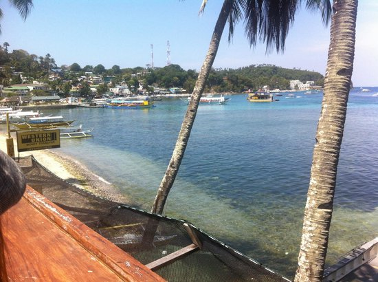 Sabang Inn Diver Dream Resort: Veiw from. Chill out lounge