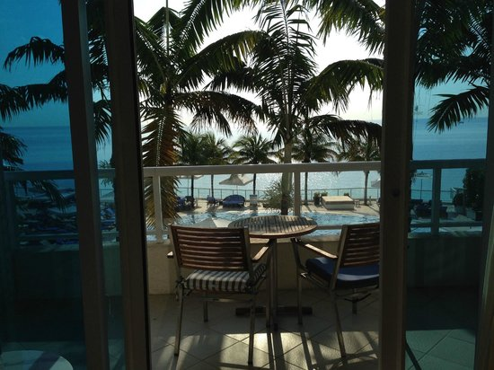 The Ritz-Carlton, Fort Lauderdale: Our room view