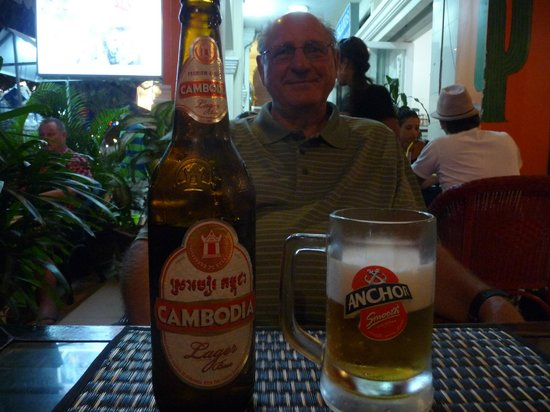 Viva: Cambodian, not Mexican, beer and the big bottle of course!