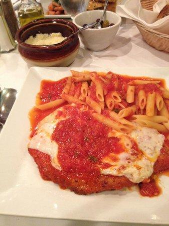 Limoncello : Chicken parm