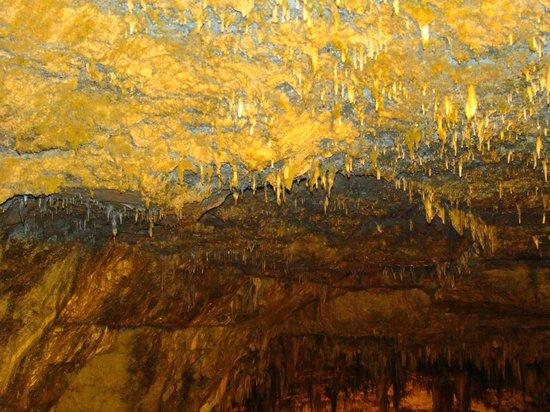 Drogarati Cave: Sufit jaskini