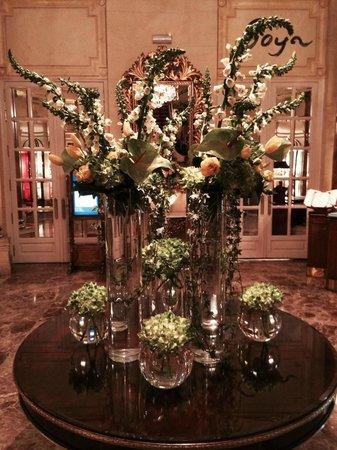 Hotel Ritz, Madrid: Ritz florals