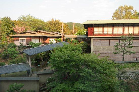 The Westin Miyako Kyoto : View facing back wedding facility and hills