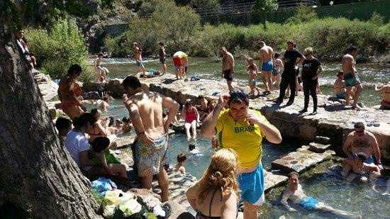 Balneario TermaEuropa Arnedillo: Pozas termales