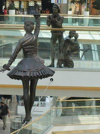 Eurovea Galleria: I'm coming, I'm coming