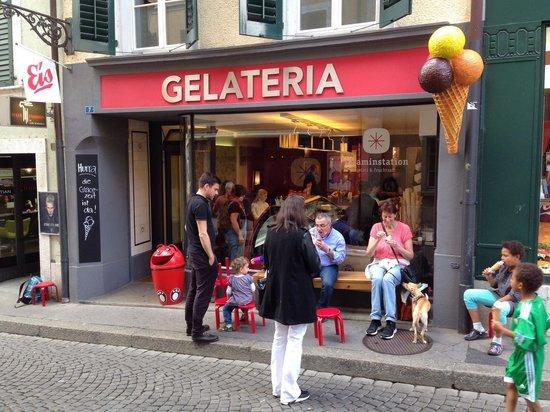 Gelateria : Die besten Glaces weit und breit!!