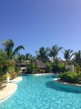 The Reserve at Paradisus Palma Real: View from the swim up terrasse