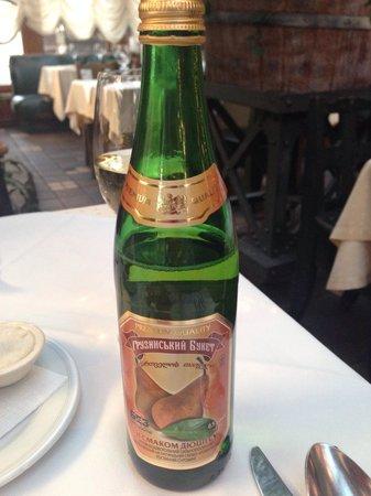 Pervak: Georgian pear lemonade.