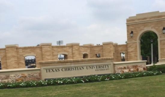 Texas Christian University: TCU, home of the Big 12 Tennis Tournament