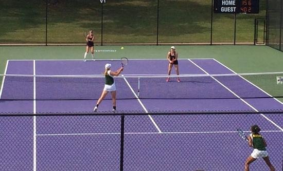Texas Christian University: beautiful host tennis facility for collegiate tournaments