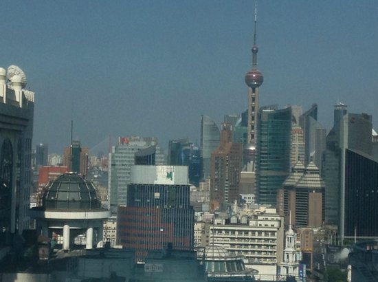 Radisson Blu Hotel Shanghai New World: View